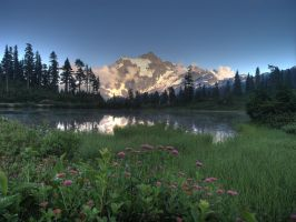 Mt Shuksan 1 by sgwizdak