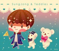 Sjong Star1 Jan 2015 Teddy 2 by Jadekyy