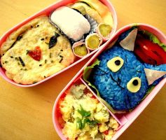 I love Fish-Bento by Cephis