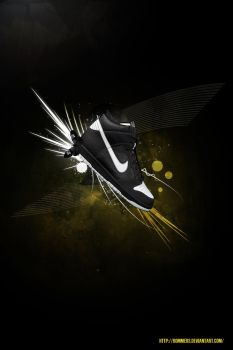Nike Dunk Ad by Rommers