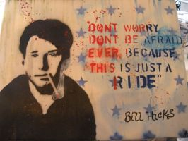 Bill Hicks Its just a ride by Goodbyeskye