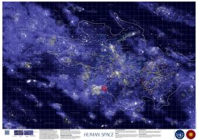 Map of Human Space by nilsjeppe
