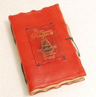 Red Recipes by gildbookbinders