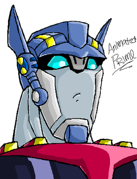 Animated Prime - MSPaint style by Autobot-Windracer