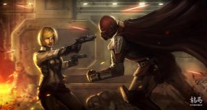 +Commission The Old Republic+ by RyomaNinja