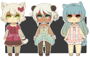 [CLOSED] Kemonomimi Adopts by WanNyan