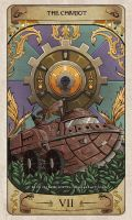Cerebium Tarot 7 - The Chariot by Hedrick-CS