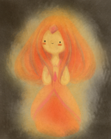 Flame Princess by vividbit