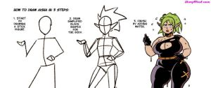 How to draw Aisha by sidneymt