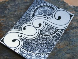 Henna Inspired ACEO by Glamourpuss15