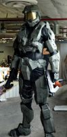Halo Master Chief Cosplay by UlyKompean