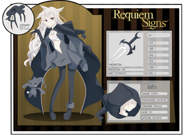Requiem Signs Application: Duska by Pandaa-ko