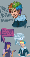 Rainbows Are Cool Too by Lady-Liesl
