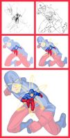 The Atom - Process by GreenArrow