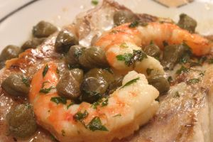 Shrimp with Capers by Markhal
