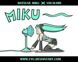 Hatsune Miku Voice by cyu