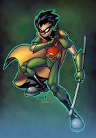Teen Titans Robin Color by redeve