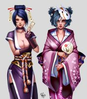 Characters Desing2 by Phila by Philiera