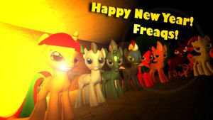 Happy New Year! Freaqs!!!! by TheProdigy100