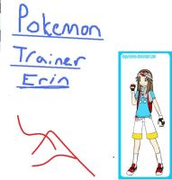 Erin the Pokemon Trainer by NikkiiChi