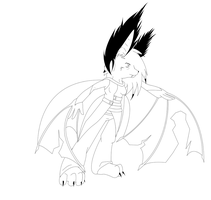 Willow the bat wip by rouge2t7