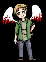 SPN: Lucifer Animated Pixel by LuciferianRising