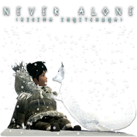 Never Alone by POOTERMAN
