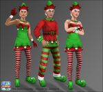 Sims Freeplay - Christmas Elves by JessBDev