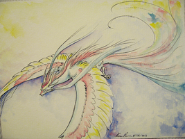 Feathered dragon by Nuzma