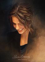 Pretty Face P2 -Stana Katic by Amro0