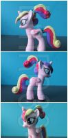 FOR SALE: Young Princess Cadance Custom G4 Pony by EmR0304