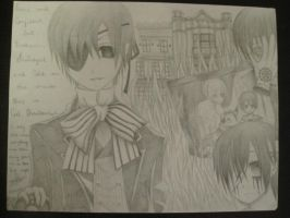 Ciel Phantomhive Four by lilasianbear