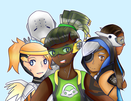 OW: Support main selfie by spyu98