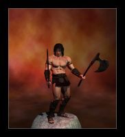 Conan the Destroyer by CitizenOlek