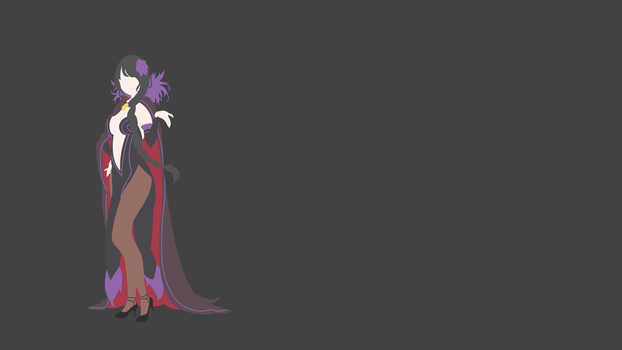 Elsa Granhiert (Re: Zero) Minimalistic Wallpaper by Ancors
