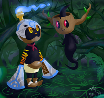 Hundred Knight And Phantump by Raspberl
