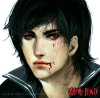 .Vampire Prince. by sakimichan