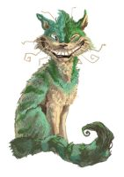 Cheshire cat by Keaze