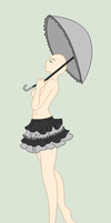 Traced Base - Lolita Umbrella by Mature-Bases