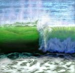 Glow of Wave by E by Ellee22
