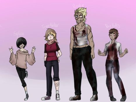 Shadow Walkers OCs by Chibi-Works