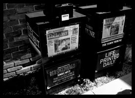 Life Printed Daily by Chexee