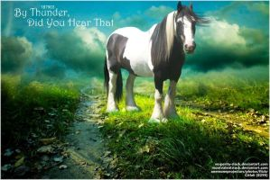 By Thunder,Did you hear that? by JuneButterfly-stock