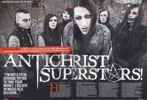 Motionless In White Kerrang! spread by zombis-cannibal
