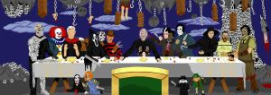 Pure Evil's Last Supper v.3 by wisemantonofski