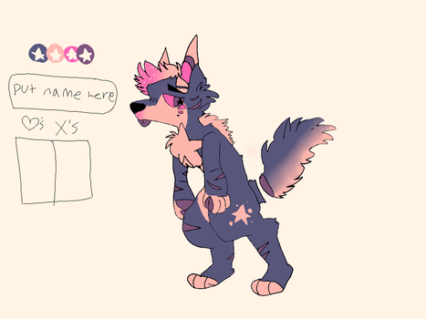 Nameless Adopt by floffyaliens