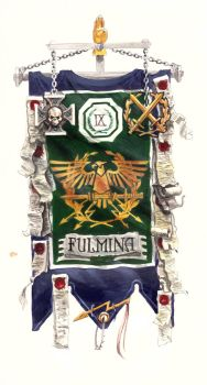 Banner of the 9th company of Dictators by SprigganE