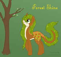 Forest Shine competition entry by HareTrinity