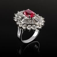 Ruby Ring by NorthBlue