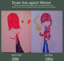 Before and After Meme with Kyle by Ice-Cream-Pizza